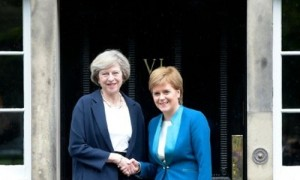 Britsh PM seeks to unite first ministers over Brexit plans