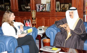 Education Minister meets OBG officials