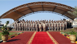 HM King visits Royal Special Force