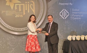 BIBF wins Middle East Insurance Industry Award 2016