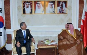 Minister receives Korean deputy foreign minister