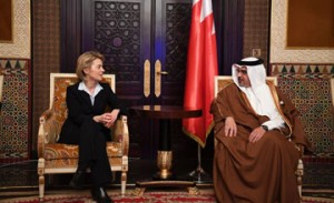 Crown Prince meets German Defence Minister