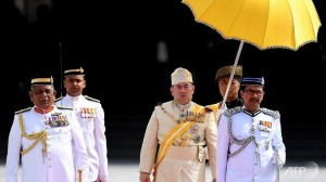 Malaysia enthrones Sultan Muhammad V