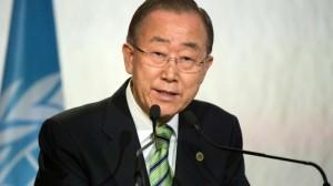 Outgoing UN secretary general honoured