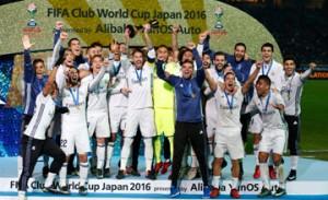 Real Madrid win FIFA Club World Cup