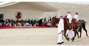 Bahrain Falcons and Hunting Tournament held