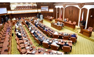 Amendment to Constitution bill referred to legal committee