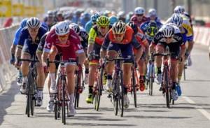 Bahrain Merida wins third place in Tour of Oman