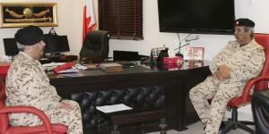 Commander-in-Chief visits BDF unit