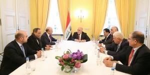 GCC Chief meets Iraqi Premier