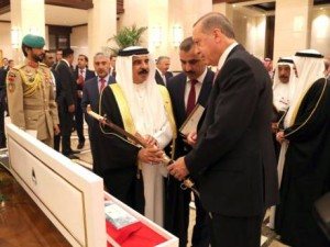 King, Turkish president hold talks; agreements signed