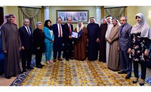Shura Council chairman receives NIHR's annual reports