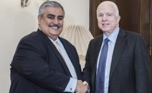 Foreign Minister meets John McCain