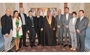 Foreign Minister receives European business delegation