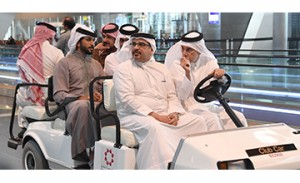 HRH Crown Prince visits Hamad International Airport