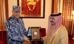 King hails historic relations with Egypt