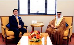 Deputy Premier meets Pakistani Ambassador