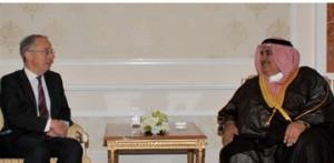 Foreign Minister receives Lord Richard Dannatt