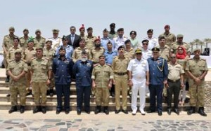 Pakistani defence college delegation visits National Guard