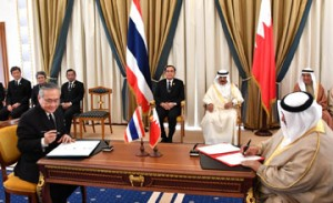 Premier, Thai counterpart hold talks