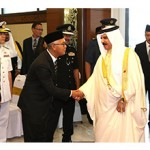 HM King given state welcome in Malaysia