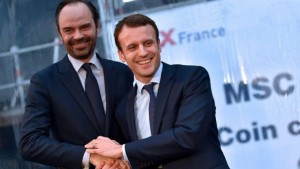 Macron names Philippe as France's PM