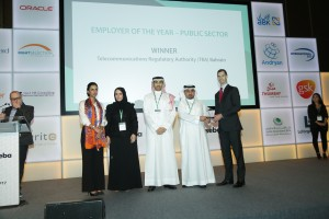 TRA wins Employer of the Year award in MENA region