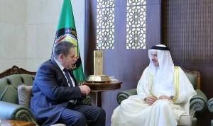 GCC Chief meets Russian envoy