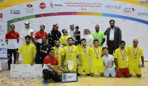 Khalid bin Hamad League for Youth Centers held