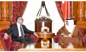 HRH Crown Prince meets Malaysian Minster of Defence