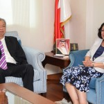 Health minister meets Malaysian delegation