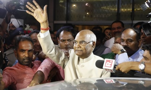 India elects Kovind as 14th president
