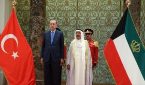 Kuwait, Turkey leaders hold talks
