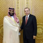 Saudi Crown Prince meets Turkish president