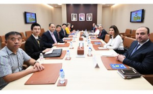 Works Minister receives Chinese delegation