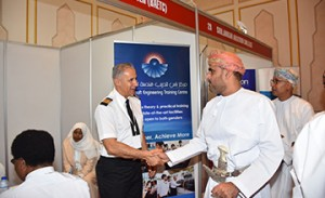 BAS participates in Oman's training exhibition