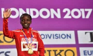 Bahraini Chelimo clinches gold medal