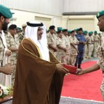 HRH Crown Prince visits Royal Guards Headquarters