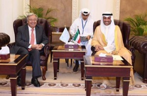 Kuwaiti Speaker meets UN chief
