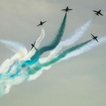 Saudi Falcons mark Pakistan's independence day