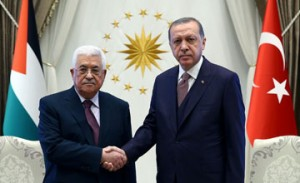 Turkish President meets Palestinian leader