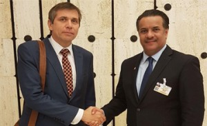Assistant foreign minister holds meetings in Geneva