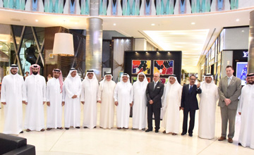Cabinet Affairs Minister opens fine art exhibition
