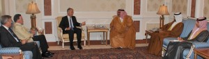 FM receives Lords Richards, Robertson