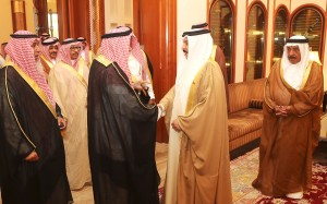 HM King receives Shaikh of Al-Murrah Tribe