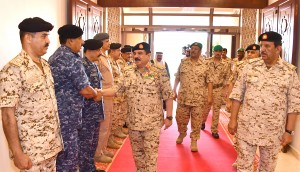 HM King visits BDF