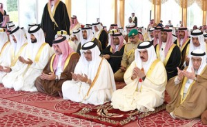HM the King performs Eid Al-Adha prayers