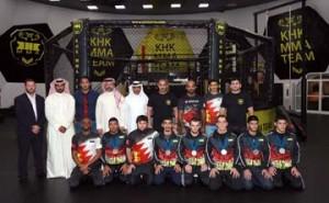 Khalid bin Hamad receives National MMA Team