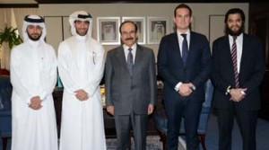Minister receives corporate delegation
