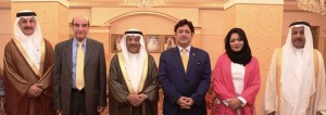 Pakistan Ambassador receives Bahrain Parliament members